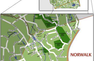 NASH Silvermine map