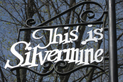 This is Silvermine sign