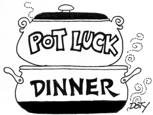 2019 PotLuck Dinner On 1/26 @ Silvermine Arts Center